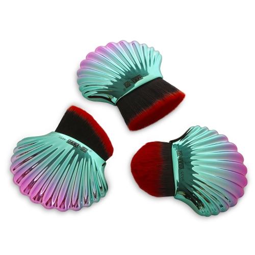 Hot Fashion New Shell Design kosmetische weichen Pinsel mehrere Farben