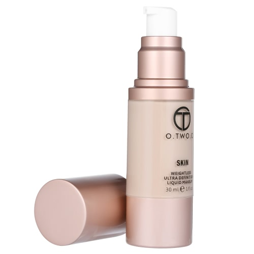 O.TWO.O Liquid Foundation Coverage Concealer Creme Fluid Make-up Base Kosmetik Grundierung Wasserdicht Schwerelos