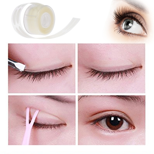500 Paar Adhesive Invisible Double Fold Augenlid Klebeband Aufkleber Streifen Paste Clear Beige