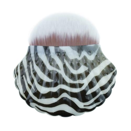 Профессиональный инструмент для лица для лица в форме раковины Одиночная русалка для лица Косметическая кисть