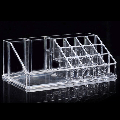Clear Storage Holder Box Transparent Stick Cosmetic Makeup Organizer Case