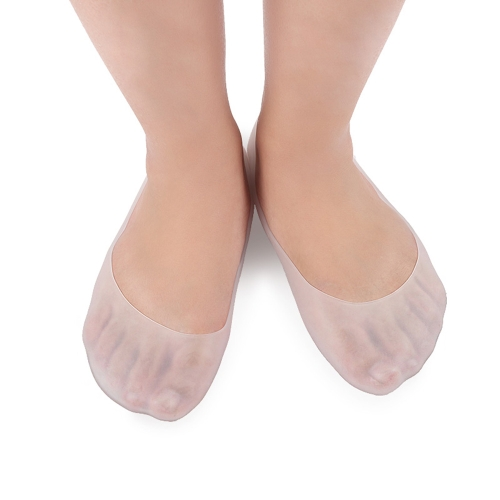 1 Paar Footful Voller Länge Silikon Gel Moisturizing Socke Fußpflege Protector Behandlung Massager