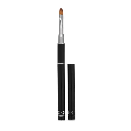 1 stück Doppelkopf Nagelbürste Pen Farbe Mixer Mischen Stick Nail art Verlängerung Malerei Werkzeug Edelstahl
