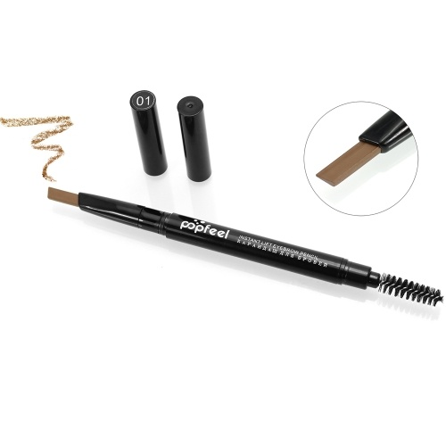 Popfeel 2 in 1 Rotating Eyebrow Pencil