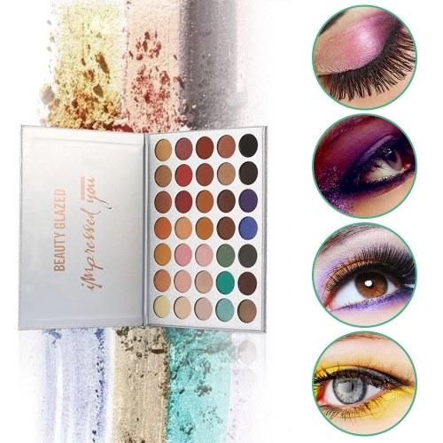BEAUTY GLAZED Eyeshadow Palette Eye Shadow Make Up Waterproof   Long-lasting Easy To Wear Eyeshadow Palette Cosmetics