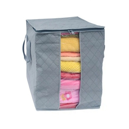 Large Clothes Bedding Duvet Zipped Pillows Non Woven Storage Bag Box