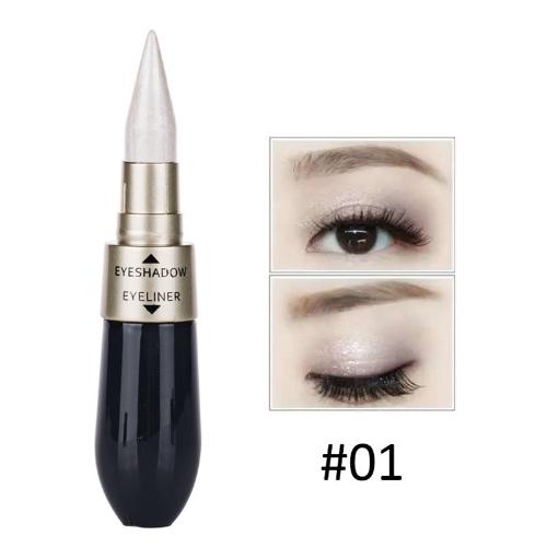 Double-end Waterproof Liquid EyeShadow Eyeliner Combination Easy to Wear Maquiagem 2