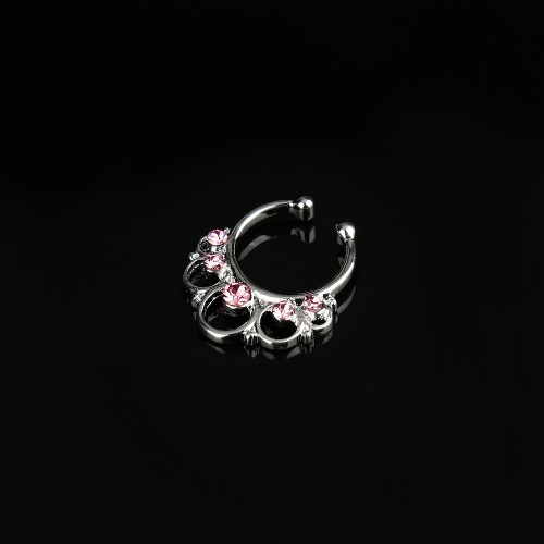 Frauen gefälschte Nose Ring Septum Clip-on Körper Nase nicht-piercing-Schmuck