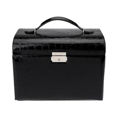 Валентина Ювелирные Box ювелирные хранения случае ожерелье кольцо отображения контейнера Организатор