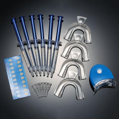 12pcsTeeth отбеливание уход Home Kit Зубы инструменты