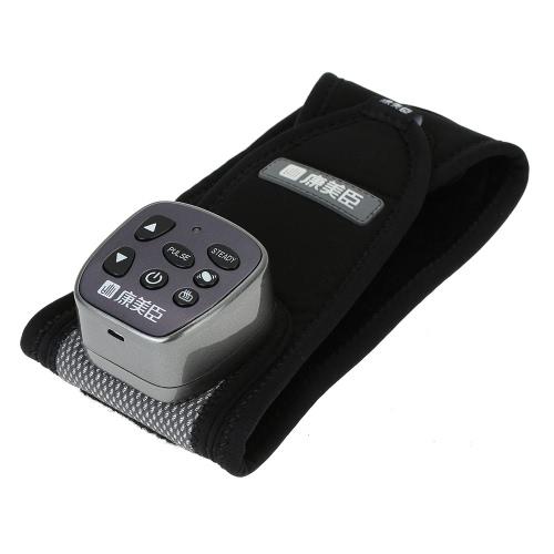 Komec Heating and Vibration Wrist Massager 2 Modes Heating Therapy Wrist Brace Protection Belt Heating Massager with US Plug