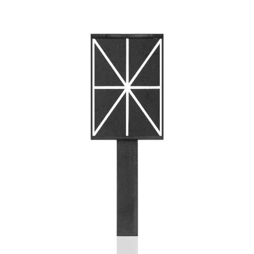 Cat Eye Magnetische Werkzeug-Nagel-Magnetic-Stock Rod Cat Eye Nail Magnettafel Nagel-Kunst-Magnet-Steinplatte Wand Gekreuzte Streifen magnetischen Werkzeug