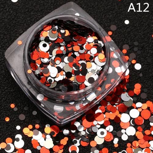1 PC DIY Beauty-Nagel-Spitze Fertigkeit-Dekorationen Thin Nail Paillette Glitter Cosmetic Mode Nagellack-Aufkleber