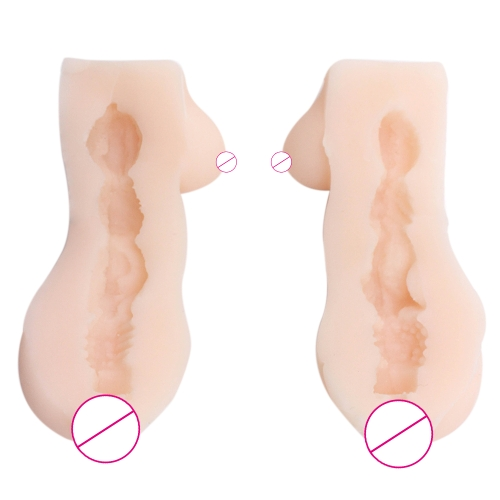 Soft Real Male Masturbator Aircraft Cup Pussy Sex Equipment Artificial Dolls Breast Adults Intercourse Orgasm Toys for Men