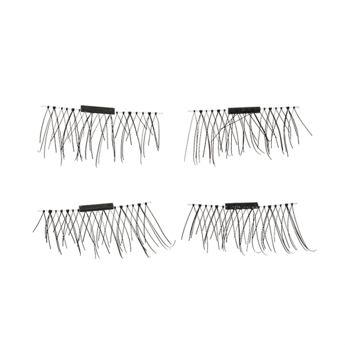 Europäische und amerikanische Hot Style 3D magnetische falsche Wimpern ohne Notwendigkeit für Kleber einzelner Magnet