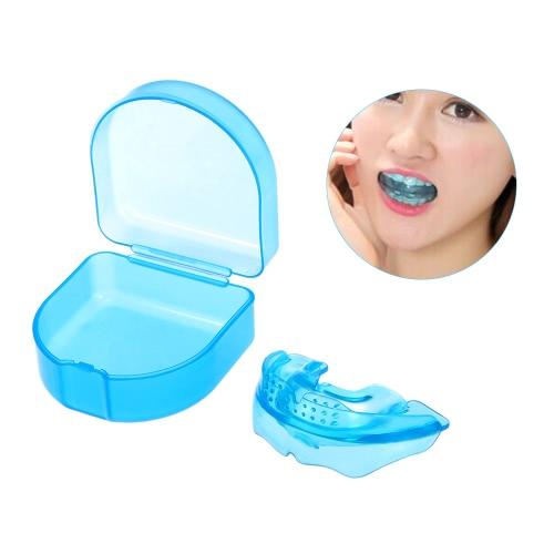1Pc Ортодонтическая тренировка зубов Прямые зубы с коробкой для взрослых