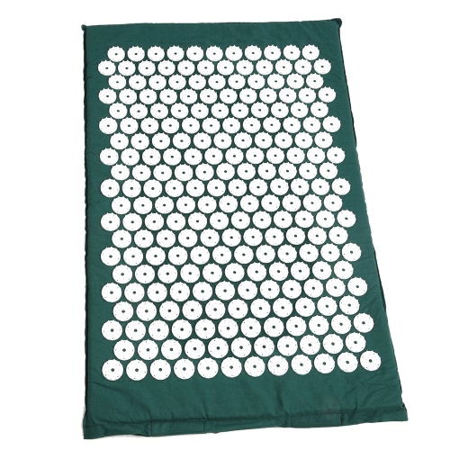 Anself Massager Cushion Acupressure Mat Relieve Stress Pain Acupuncture Massage Pillow Spike Yoga Mat with Pillow