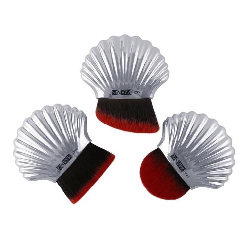Cepillo suave cosmético del diseño de Shell de la nueva moda caliente varios colores