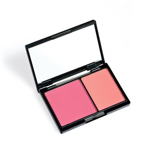 Huamianli 2 Цветная румяна Pallete Face Blusher Порошковая палитра Косметика для лица Косметика для бинокли