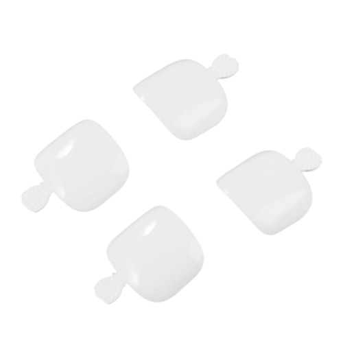 500Pcs Поддельные подсказки для ногтей Set Full Cover False Toe Nail Tips для DIY Nail Art & Manicure Salons 12 Размеры