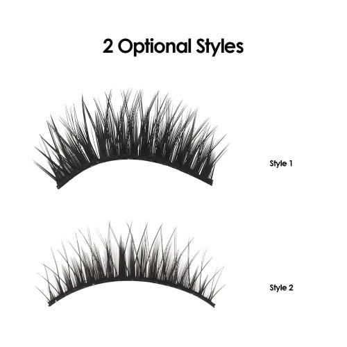 5 Pairs False Eyelashes Long Black Natural Crisscross 3D Eyelashes Extention Fake Eyelashes Makeup