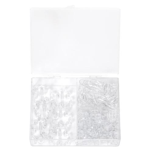 Falso Nail Art Consejos Manicura Formación Práctica Soportes de pantalla Plástico Desmontable Soporte fijo montado herramienta de soporte