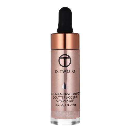 O. TWO. O Gesicht Highlighter Foundation Schimmer Flüssigkeit Gesichts Concealer Creme Gesicht Make-Up-Tool