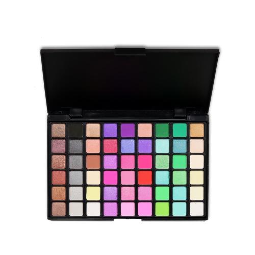 54 Farben Sexy Professionelle Schönheit Matte Glitter langlebige Pigment Palette Augen Kosmetik Make-Up Werkzeug Lidschatten