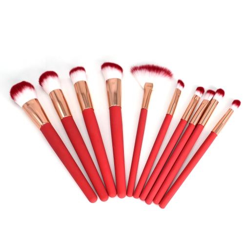 10шт Термальная индуктивность Изменение цвета тепла обесцвечивание Кисти для макияжа