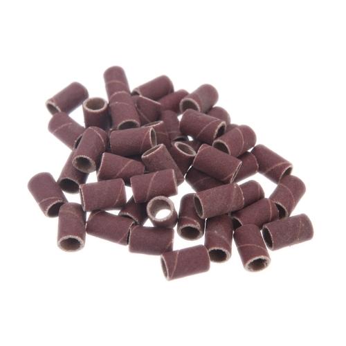 100 Stücke Nagelbohrmaschine Schleifbänder Schleif Sand für Maniküre Pediküre Nagel Bohrmaschine Nail art Werkzeug 80 # 120 # 180 # Optional Größe