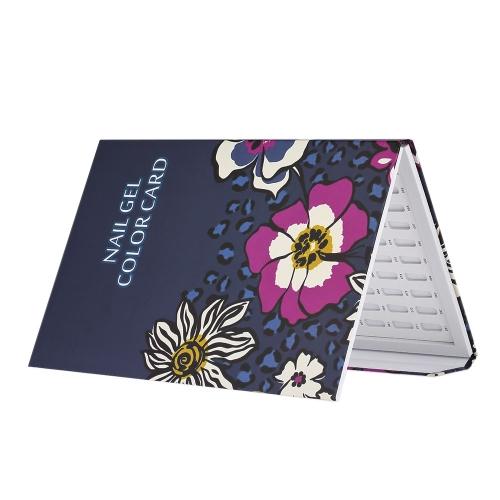 Professionelle 180 Farben Nagel Gelpoliermittel Anzeige Diagramm Nagellack Farbe Karton Nail Art Salon Set
