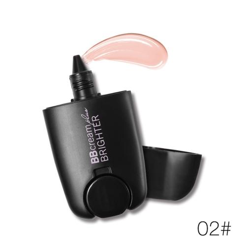 Musik Blume BB Creme 2-in 1 Concealer Liquid Highlight Powder Wasserdichte Foundation Feuchtigkeitscreme Make-up Kosmetische Creme # 1