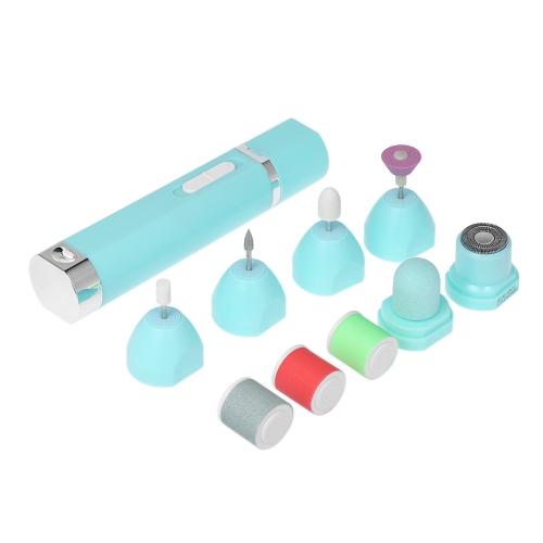 9 in 1 Elektrische Nagel Polierer Schleifmaschine Portable Multifunktionale Pediküre Maniküre Werkzeug-set