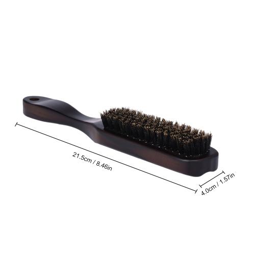 Male's Facial Beard Brush Wooden Mustache Comb Men Shaving Brush Multifunctional Facial Hair Brush
