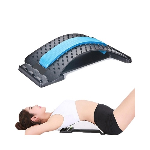 Lumbar Back Massager Magic Stretcher Fitness Stretch Equipment
