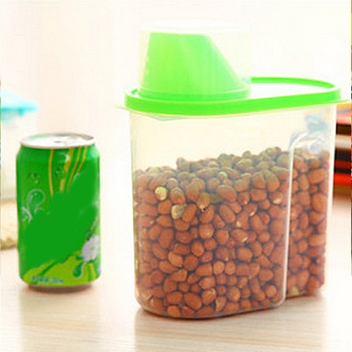 2.5L Диспенсер для хранения Box Holder Lid Foods Rice Pasta Container Hot