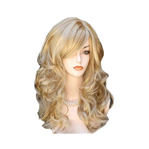 KW-004 High-temperature Synthetic Fiber Wigs