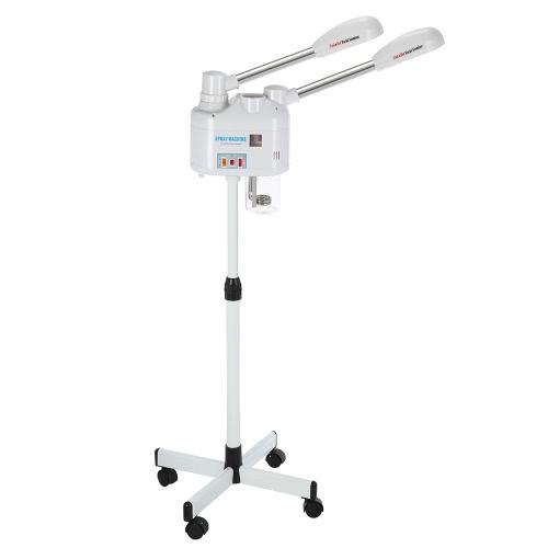 Facial 750W Steamer Maschine Cold & Hot Doppel-End für Ozon-Dampfer Hautreinigungsgeräte für Beauty-Salon-Werkzeug 110V US Stecker