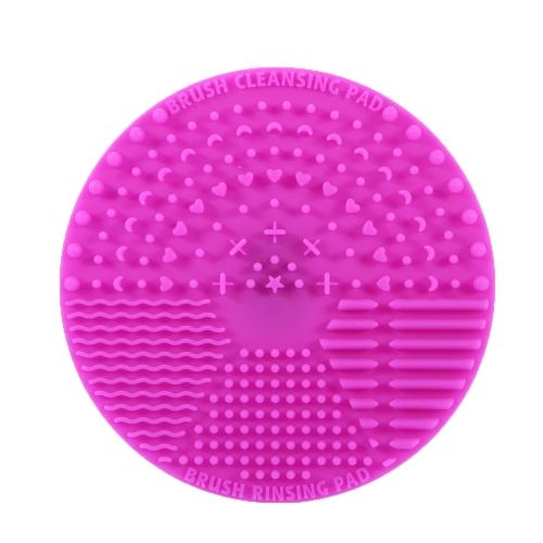 Make-up Pinsel Reinigung Matte Silikon Kosmetik Pinsel Waschen Pad Bürste Scrubber mit Rücken Saugnapf