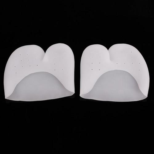 1 par Toe de silicone ultra-suave Capa protetora Pé Protecção da luva de dedo do pé almofadas de gel para Sapatilha de Dança Salto Alto protetora Ferramenta Cuidados