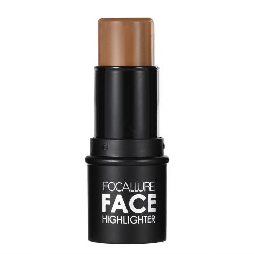 Focallure 1pc Hervorhebung Stift Make-up-Stick Frau Concealer Pulver Kontur Palette Kosmetik-Tool Silber