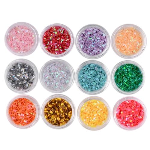 Raute Strass Glänzenden Diamant Kristall Nail art Dekorationen DIY Schönheit Nagelspitze Glitter 3D Schmuck Zubehör