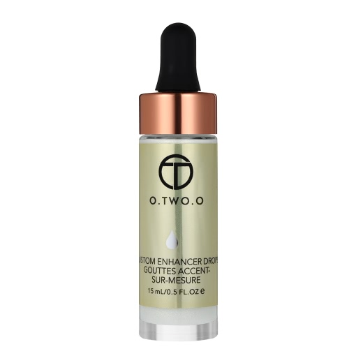 O. TWO. O Gesicht Highlighter Foundation Schimmer Flüssigkeit Gesichts Concealer Creme Gesicht Make-Up-Tool