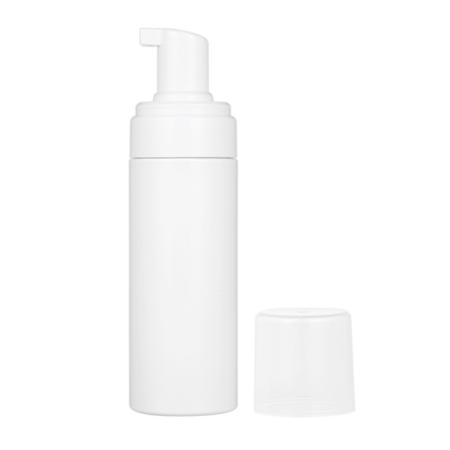 1pc 150ML(5.2oz) Foam Bottle Mousse Soap Foaming Pump Bottle Plastic White Empty Refillable Portable Travel