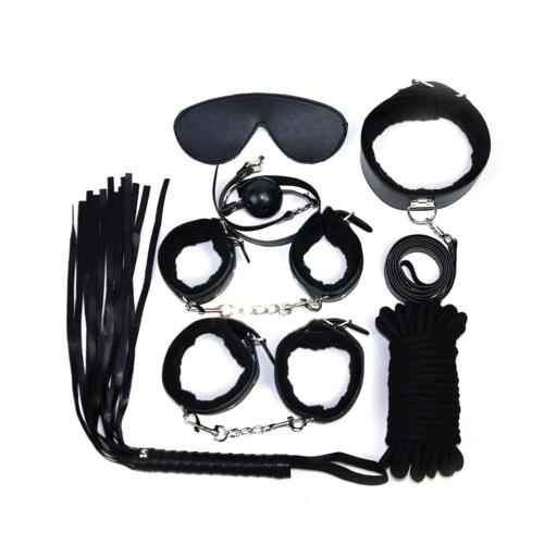 Прочный и надежный черный двойной замок Сталь Полиция Edition Профессиональные оценки наручники