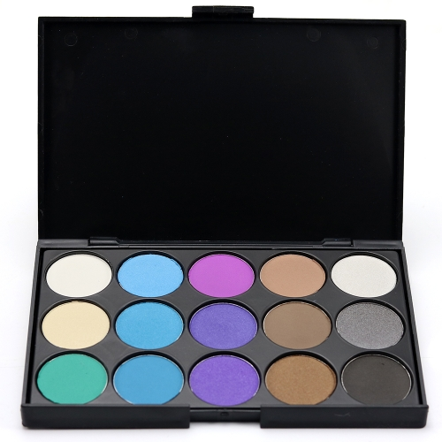Brand New 15 Color Matte Pigment Glitter Eyeshadow Palette Косметический макияж Set Nude Eye Shadow