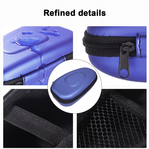 Men Portable Double-headed Electric Shaver Storage Case Hard EVA Carry Shaver Holder Protector Bag Box for Travel W5903