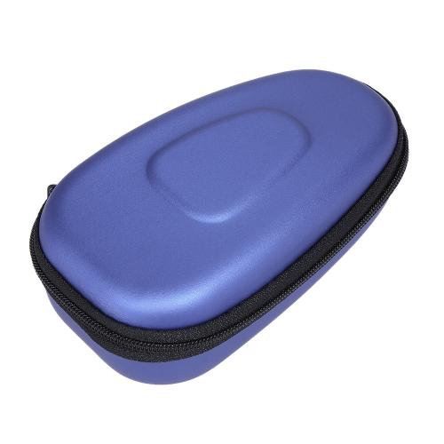 Caja de almacenamiento de afeitadora eléctrica de doble cabeza portátil para hombres EVA duro llevar caja de bolsa de protector de afeitadora para viajar