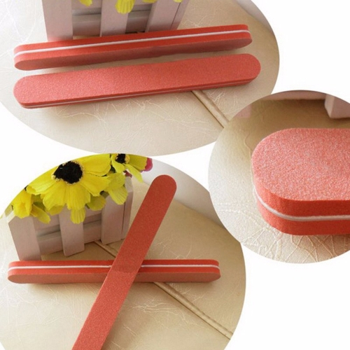 1Pcs Nail File Buffer Sanding Files Accessories Nail Art Tool Salon Fashion Manicure Pedicure Tools Random Color