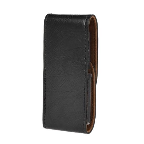 PU Leather Razor Pouch Handle Straight Long Safety Razor Case Long Handle Double Edge Razor Holder Razor Blade Store
